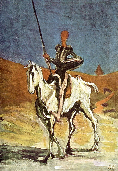 """Don Quixote's indomitable spirit inspired me."""