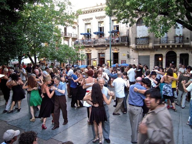 Argentine Tango, San Telmo Plaza Dorrego, Buenos Aires