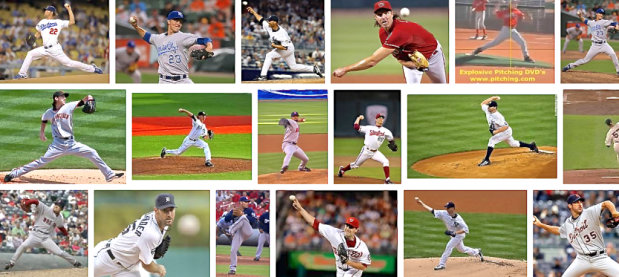 Major League pitchers routinely throw baseballs 100 miles per hour